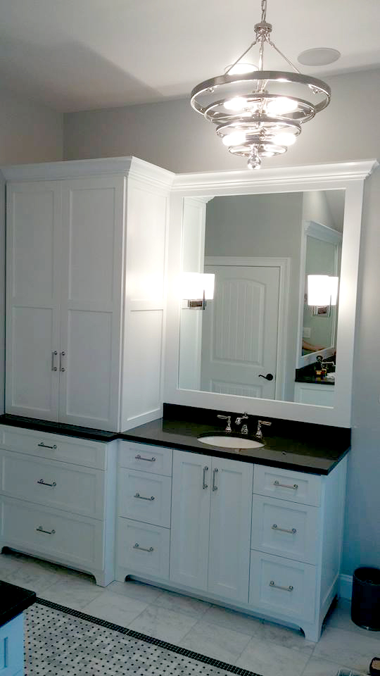 His and hers bathroom vanities 1 bucks county craftmasters for His and hers bathroom